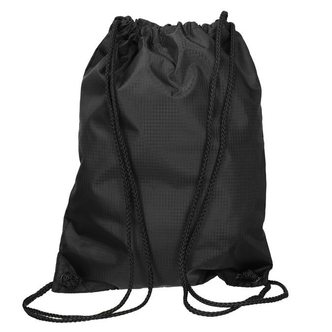 Czarny plecak worek unisex vans, czarny, 969-9086 - 16
