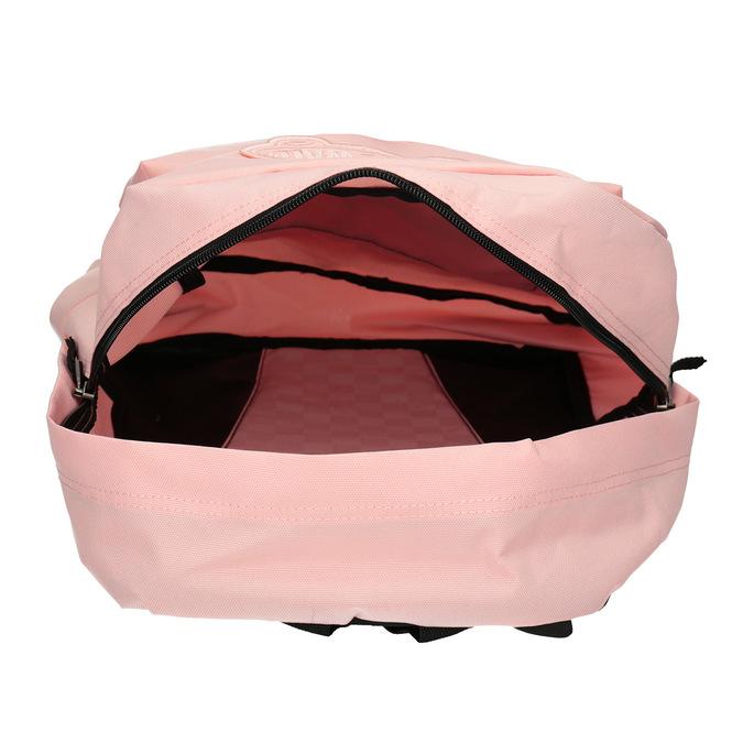 Różowy plecak damski vans, czerwony, 969-5083 - 15