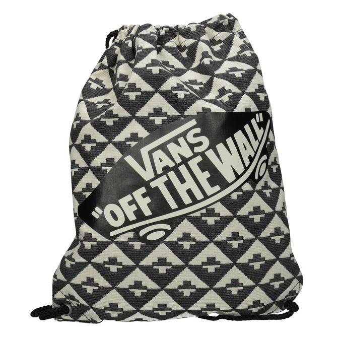 Plecak worek zmateriału tekstylnego wdeseń vans, 969-0058 - 26
