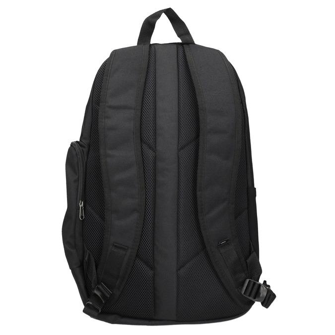 Czarny plecak zklamrami vans, czarny, 969-6098 - 16