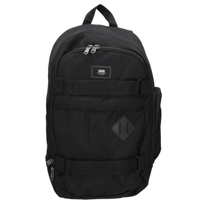 Czarny plecak zklamrami vans, czarny, 969-6098 - 26