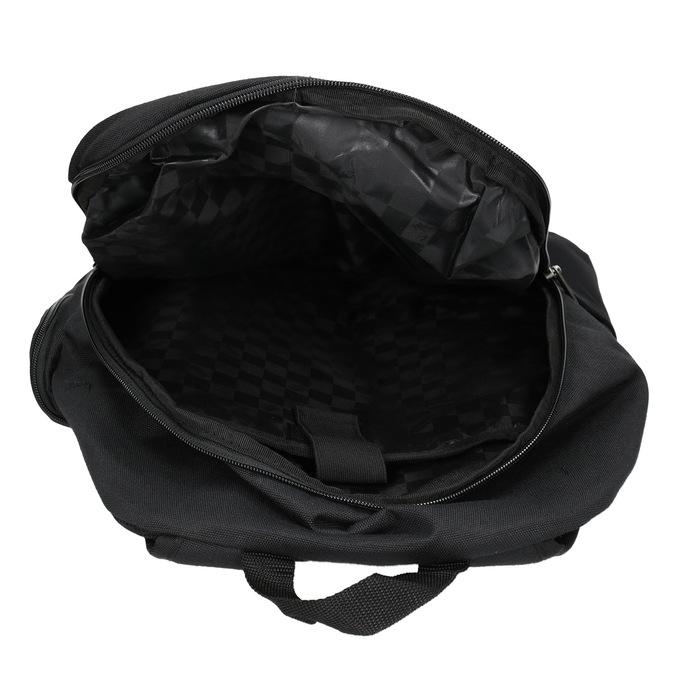 Czarny plecak zklamrami vans, czarny, 969-6098 - 15