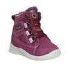 Dziecięce zimowe buty ze skóry bubblegummer, fioletowy, 196-5600 - 13