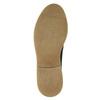 Skórzane półbuty męskie angielki bata, czarny, 826-6620 - 19