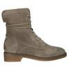 Damskie skórzane buty sznurowane bata, szary, 596-2663 - 15