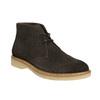 Skórzane damskie desert boots bata, brązowy, 593-4608 - 13