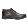 Zimowe skórzane buty męskie comfit, brązowy, 894-4686 - 15