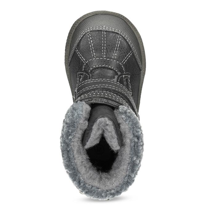 Zimowe buty dziecięce bubblegummer, brązowy, 191-4619 - 17