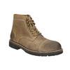 Skórzane obuwie za kostkę bata, brązowy, 893-3653 - 13