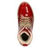 Lakierowane obuwie damskie na grubej podeszwie weinbrenner, czerwony, 598-5604 - 15