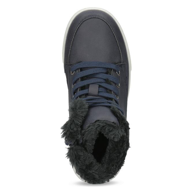 Buty dziecięce zociepliną mini-b, niebieski, 491-9652 - 17
