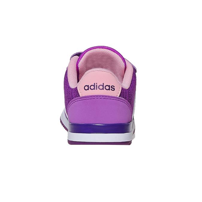 Fioletowe trampki dziecięce adidas, fioletowy, 109-5157 - 17