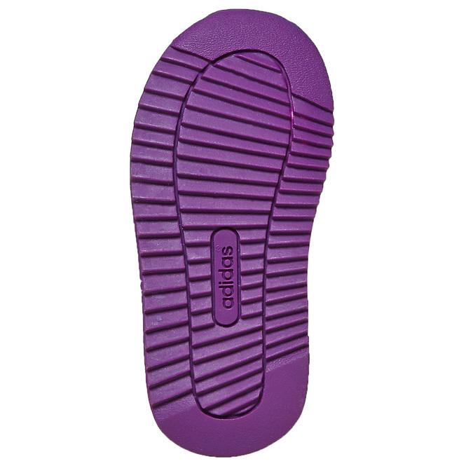 Fioletowe trampki dziecięce adidas, fioletowy, 109-5157 - 26