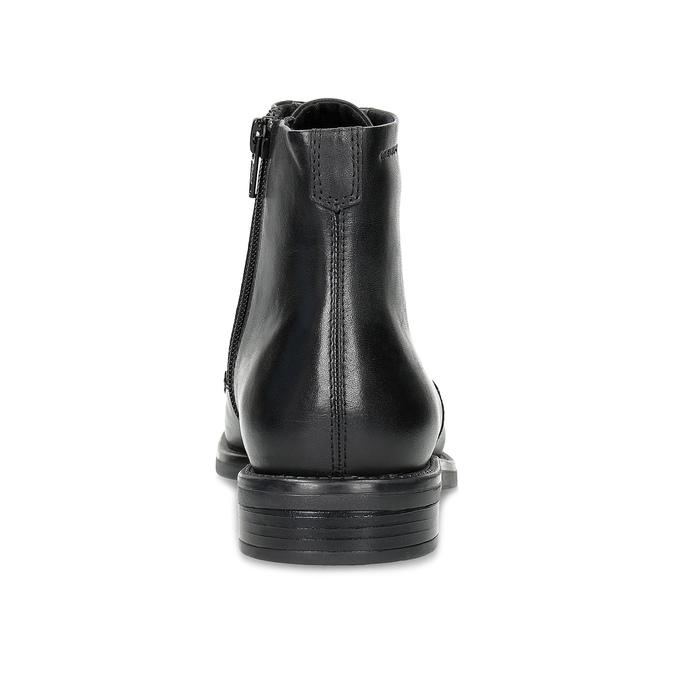 Skórzane botki damskie vagabond, czarny, 524-6010 - 15