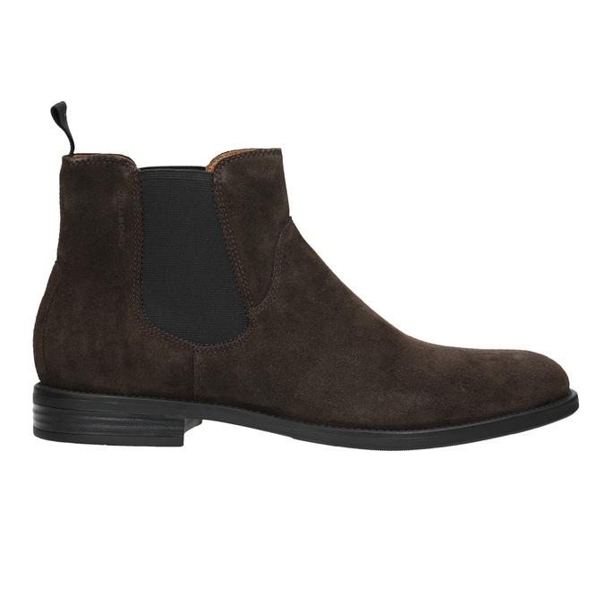 Skórzane buty męskie typu Chelsea vagabond, brązowy, 813-4019 - 26