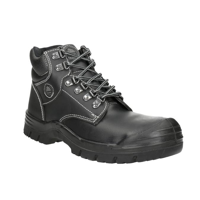 Męskie obuwie robocze Stockholm 2 KN S3 bata-industrials, czarny, 844-6645 - 13