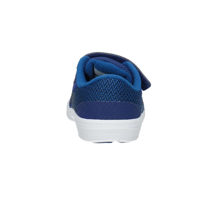 Granatowe trampki dziecięce nike, niebieski, 109-9132 - 16