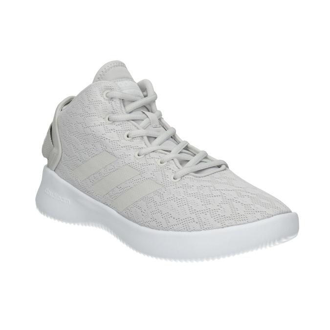 Trampki damskie zażurowym wzorem adidas, szary, 509-2216 - 13