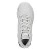 Trampki damskie zażurowym wzorem adidas, szary, 509-2216 - 15