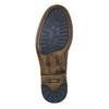 Brązowe skórzane buty za kostkę bata, brązowy, 896-3684 - 19