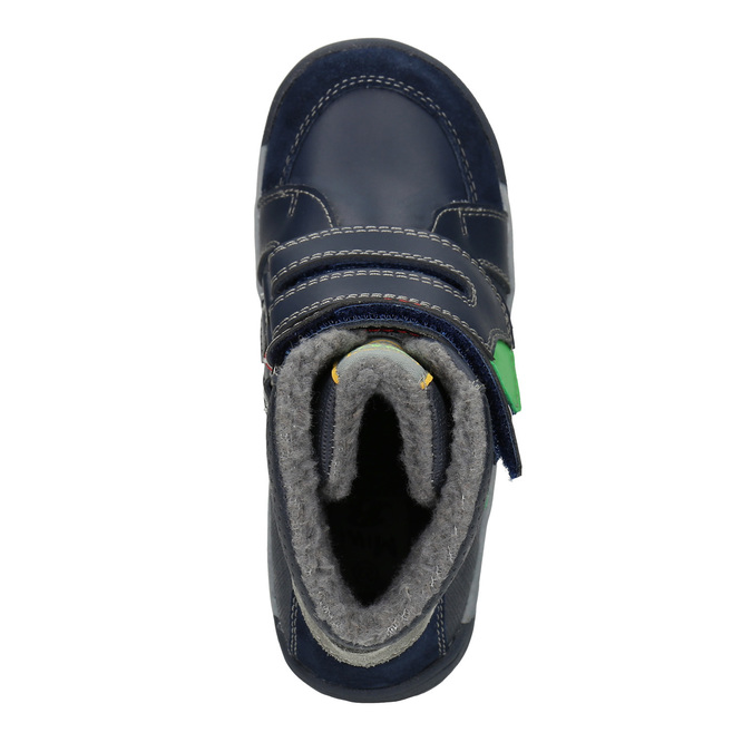 Zimowe botki dziecięce mini-b, niebieski, 291-9627 - 15