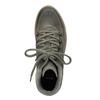 Skórzane obuwie damskie na platformie bata, szary, 596-2673 - 15