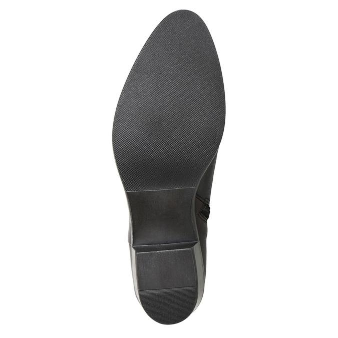 Botki damskie zklamrami bata, czarny, 696-6651 - 17