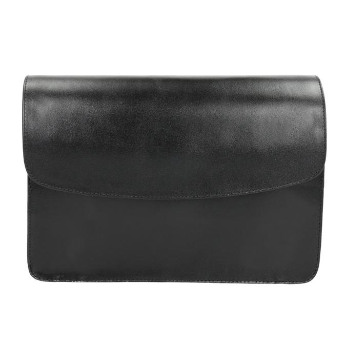 Czarna skórzana torebka typu crossbody vagabond, czarny, 964-6086 - 26