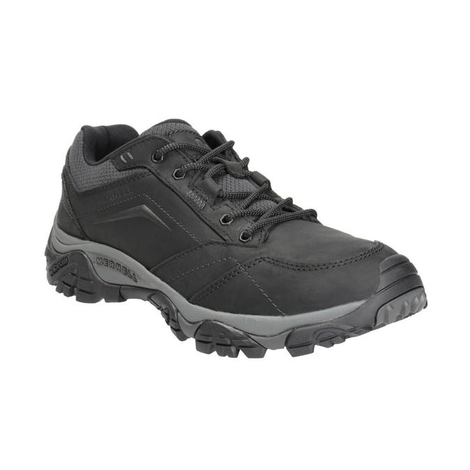 Skórzane obuwie męskie wstylu outdoor merrell, czarny, 806-6561 - 13