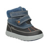 Zimowe buty dziecięce ze skóry primigi, niebieski, 196-9006 - 13