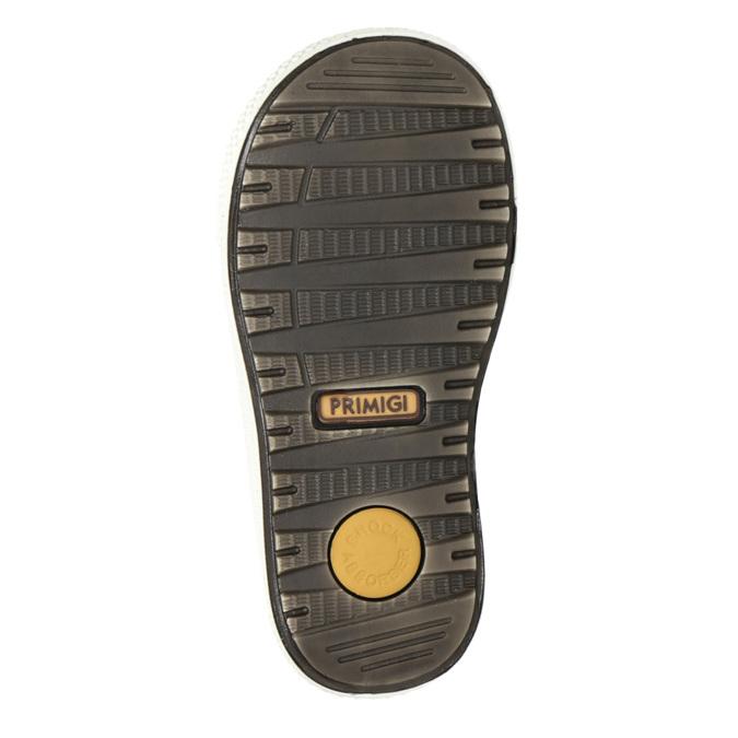 Zimowe skórzane buty dziecięce primigi, żółty, 196-8006 - 17