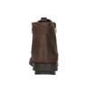 Skórzane botki zzamkami błyskawicznymi flexible, brązowy, 594-4227 - 16
