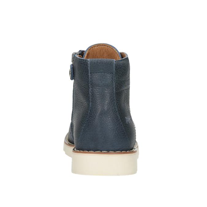 Skórzane obuwie dziecięce za kostkę primigi, niebieski, 314-9004 - 16