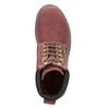 Buty za kostkę na grubej podeszwie weinbrenner, czerwony, 596-5664 - 15