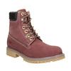 Buty za kostkę na grubej podeszwie weinbrenner, czerwony, 596-5664 - 13