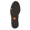 Skórzane botki zzamkami błyskawicznymi flexible, brązowy, 594-4227 - 17