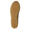 Brązowe skórzane buty za kostkę bata, brązowy, 843-3632 - 19