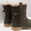 Zimowe buty damskie zfuterkiem weinbrenner, khaki, 594-2455 - 18