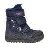 Zimowe buty dziewczęce na rzepy mini-b, niebieski, 299-9613 - 15