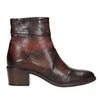Skórzane botki damskie bata, brązowy, 696-4653 - 26