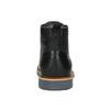 Skórzane buty męskie za kostkę bata, czarny, 896-6667 - 17