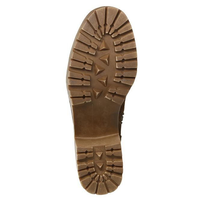 Zimowe buty damskie zklamrami bata, brązowy, 699-4637 - 19