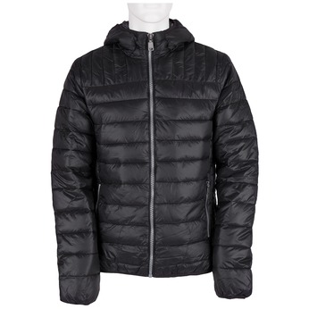 Pikowana kurtka męska zkapturem bata, czarny, 979-6143 - 13
