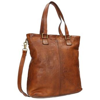 Skórzana torebka damska bata, brązowy, 964-3245 - 13