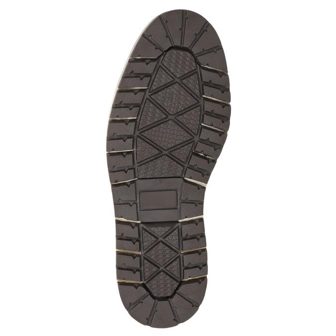 Skórzane zimowe buty męskie bata, brązowy, 896-3666 - 19