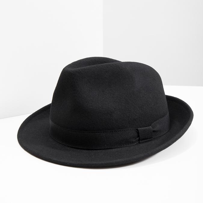 Czarny kapelusz bata, czarny, 909-6674 - 18