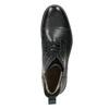 Skórzane ocieplane buty za kostkę bata, czarny, 896-6662 - 26