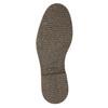 Skórzane ocieplane buty za kostkę bata, czarny, 896-6662 - 19