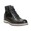 Zimowe obuwie męskie za kostkę bata, niebieski, 896-2657 - 13