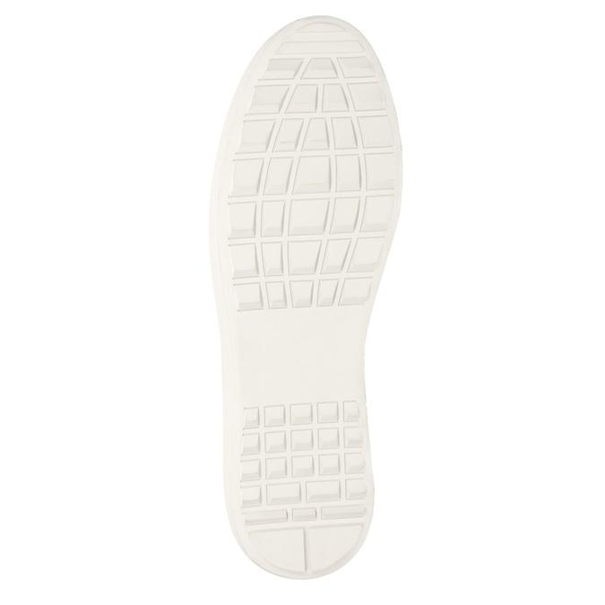 Skórzane trampki męskie bata, 846-6643 - 17